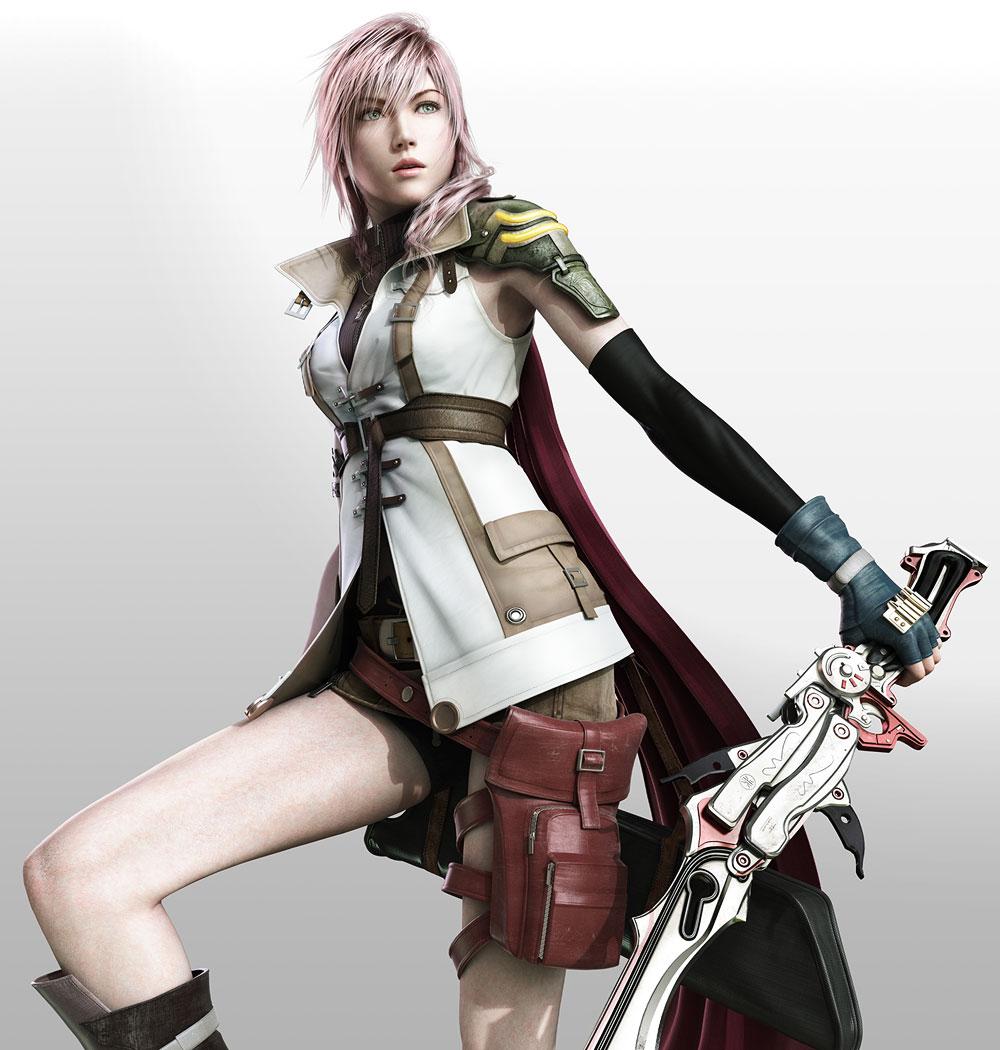 Lightning Artwork Final Fantasy Xiii Farron