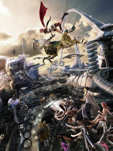 Lightning Artwork Final ফ্যান্টাসি XIII