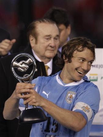 Lugano lifting the Trophy