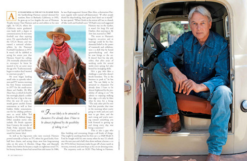 MH in Cowboys and Indians Magazine