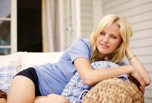 Malin Akerman: Summer House Magazine 2008