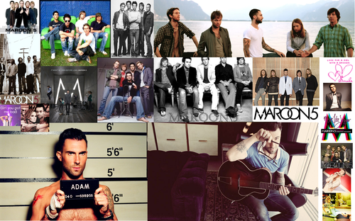 Maroon 5 collage