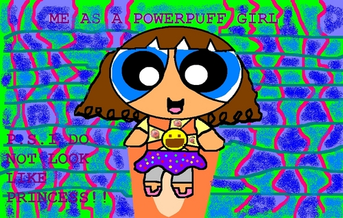 Me As A Powerpuff Girl-Aubrey