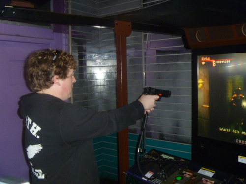 Me Playing Silent Hill: The Arcade