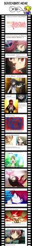Memes (Soul Eater, Madoka Magica, Tron)