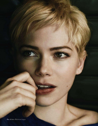 "Michelle Williams wallpaper possibly containing a portrait entitled Michelle Williams - ""Hobbo"" Magazine - (June 2011)"