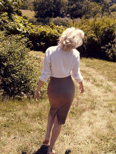 "Michelle Williams - ""Vogue""/ US - October 2011"