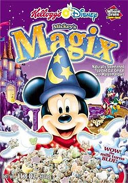 Mickey Magix cereal
