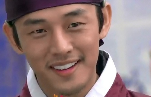 Moon Jae Shin's lovely smile