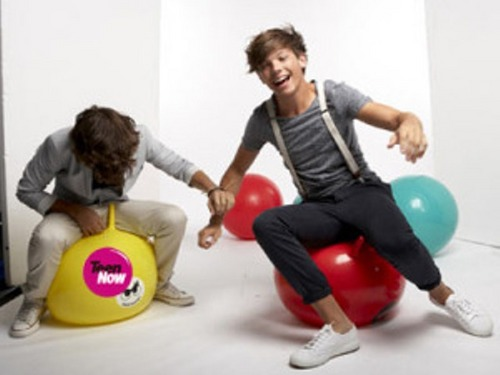 আরো ছবি from 1D's Teen Now photoshoot! ♥