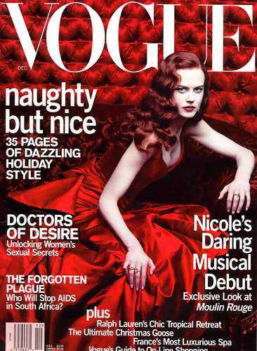 Moulin Rouge- Vogue magazine