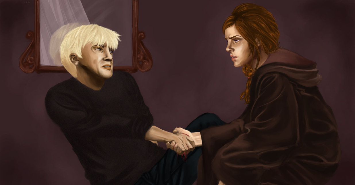 Is hermione dating malfoy