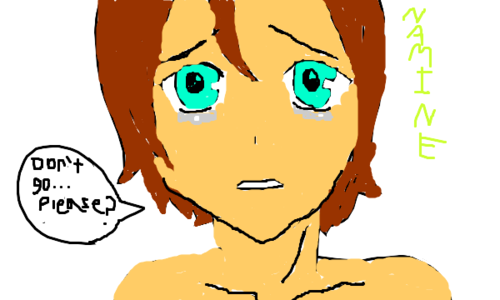 My brother just drew this its me crying
