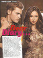 Nina and Paul on magazin - nina-dobrev photo