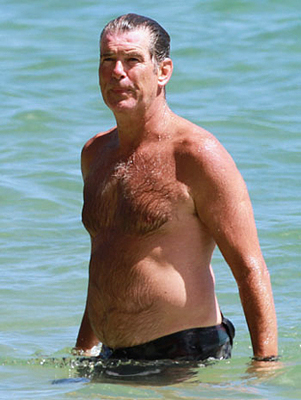 nude pics of pierce brosnen