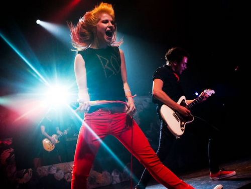 paramore @FBR 15th anniversary show, concerto 07092011