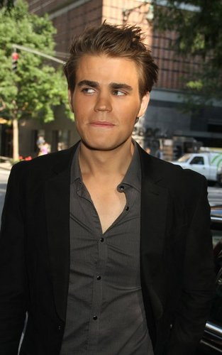 Paul Wesley arriving for 'Live with Regis and Kelly' (September 12).