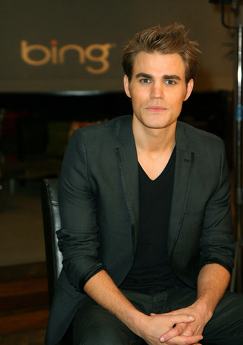 Paul Wesley at the CW Party and after party