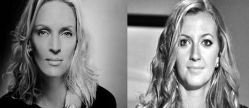 Petra Kvitova looks alike with Uma Thurman