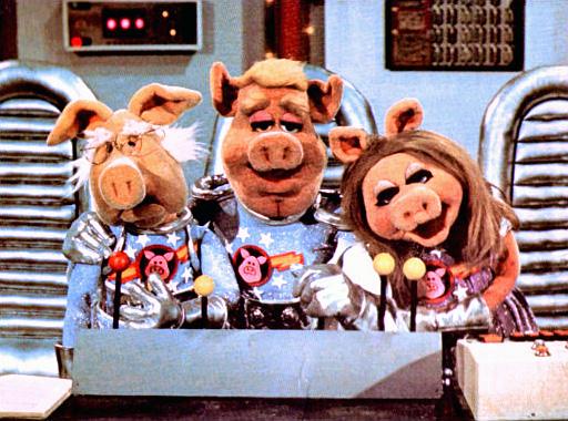 Pigs in không gian