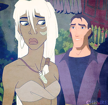 disney crossover fondo de pantalla containing anime called Proteus/Kida
