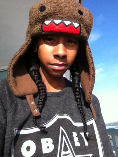 ray ray WITH HIS MINDLESS DOMO!!