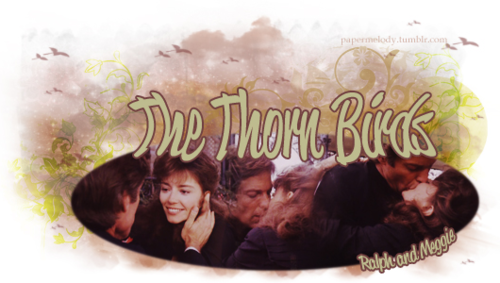 The Thorn Birds hình nền possibly with a sign entitled Ralph&Meggie