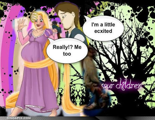Rapunzel and Flynn will have a baby --_--
