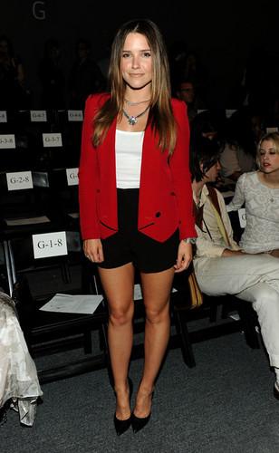 Rebecca Minkoff Front Row Spring 2012 Mercedes-Benz Fashion Week