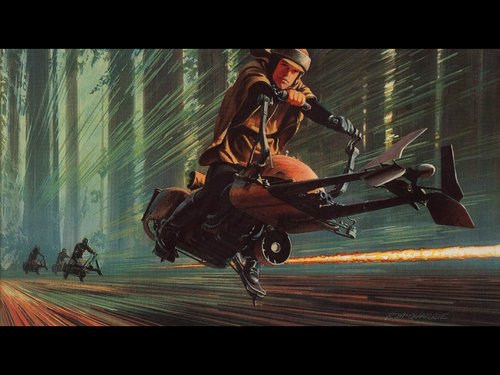 Return Of The Jedi: Pursuit in Endor
