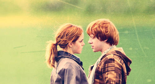 Ron and Hermione ♥