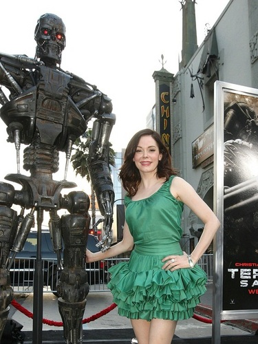 Rose - Terminator Salvation Premiere, May 14, 2009
