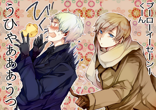 Russia x Prussia - hetalia-couples Photo