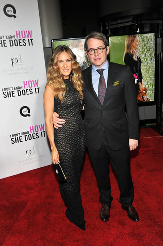 """Sarah Jessica Parker at the New York premiere of """"I Don't Know How She Does It"""""""