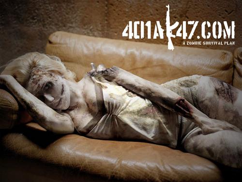 Scarlett Johansson zombie