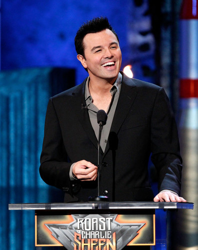 Seth MacFarlane @ the Comedy Central Roast Of Charlie Sheen