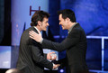 Seth MacFarlane & Charlie Sheen @ the Comedy Central Roast Of Charlie Sheen