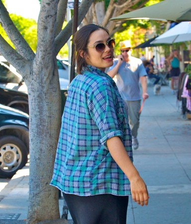 Shannyn is pregnant with seconde child - L.A., September 8, 2011