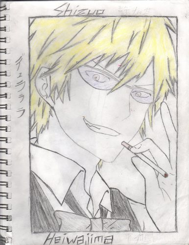 Heiwajima Shizuo kertas dinding possibly with Anime called Shizuo Heiwajima