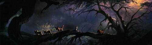 Simba's Childhood - Concept Art
