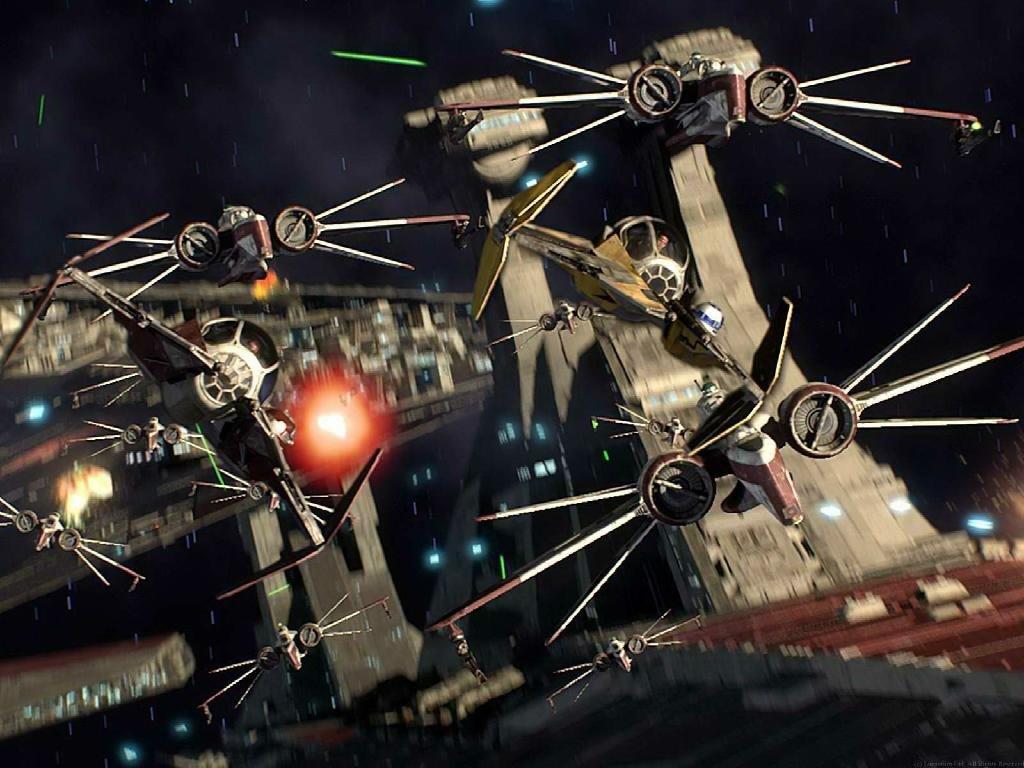 Star wars spaceship coruscant