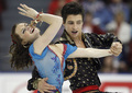 Tessa Virtue _ Scott Moir - 2008 Worlds OD (Dark Eyes)