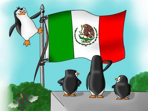 The Penguins 사랑 Mexico!! xD
