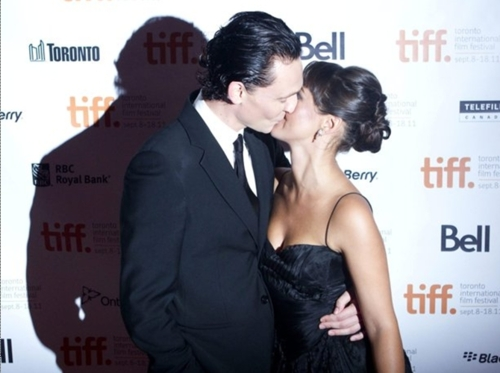 Tom and Susannah Fielding at the TIFF 2011 Deep Blue Sea Premier