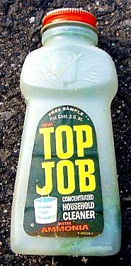 top, boven Job cleaner