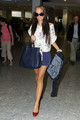 Tulisa Contostavlos at Heathrow Airport - tulisa-contostavlos photo