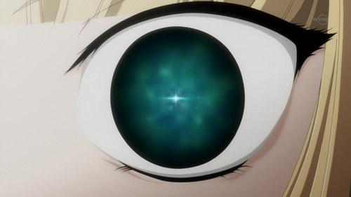 Victorique's eye
