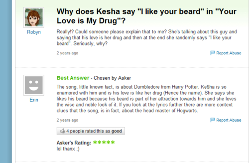 Yahoo Answer Fail!
