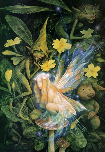 Yellow Light Faerie