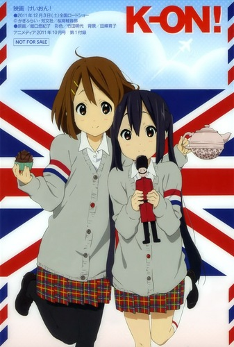 Yui and azunya!! in England